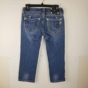 Miss Me Womens Jeans JE5152C Cropped Mid jeans